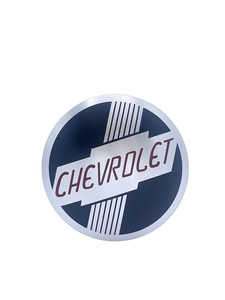 "Heater Decal - ""Chevrolet"" Round Emblem Photo Main"