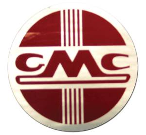 "Heater Decal - ""GMC "" (Round Decal) Photo Main"