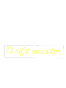 "Decal - Valve Cover ""Thriftmaster"", 216ci Photo Main"