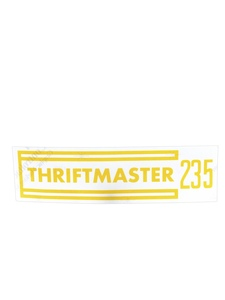 "Decal - Valve Cover ""Thriftmaster 235"" Photo Main"