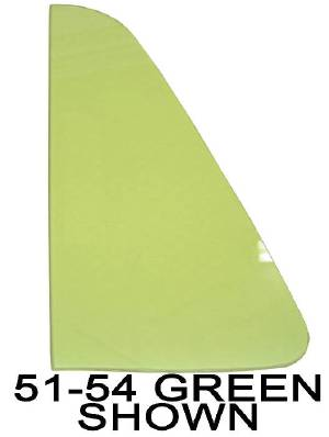 Front Door Vent Glass - (Except Cabriolet). Green Tint Photo Main