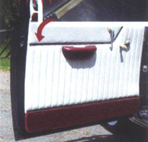 Door Panel Chrome Dress Up Kit, Upholstery Photo Main