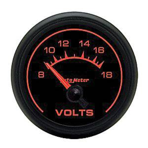 "Instrument Gauges - Auto Meter Es Series 2-1/16"", Sse Volts Gauge Photo Main"