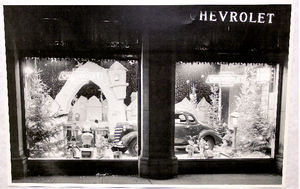 Photo: Dealer Showroom Window At Christmas Photo Main
