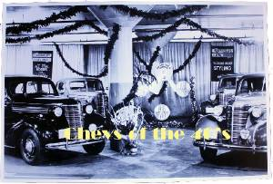 Photo: Chevrolet Dealer Showroom At Christmas Photo Main