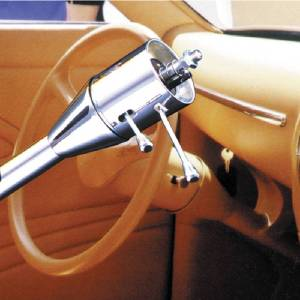 "Steering Column, Tilt -Floor Shift 2""X30"" Paintable (Flaming River) Photo Main"