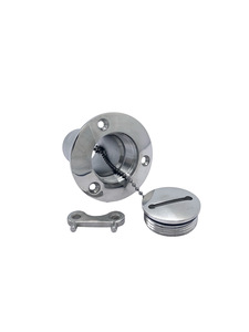 Gas Cap - Stainless Steel, Flush Cap Photo Main