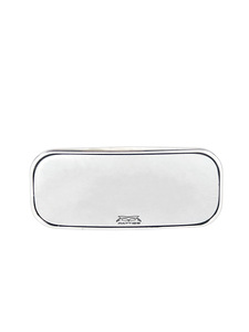 "Rear View Mirror, Fatties Super - Rectangle Head 4-1/2"" X 1-3/4"" Polished Photo Main"