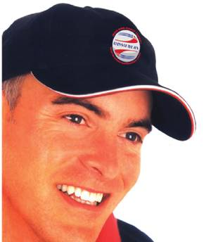 Chevs Hat - Black With Red & White Trim And Chevs Embroidered Logo Photo Main