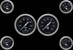 Instrument Gauges - (6 Gauge Set) - Hot Rod Series 12v Photo Main