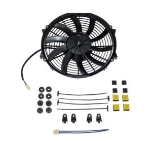 "Radiator Electric Fan, 12"" Reversible S-Blade Fan - 1,565 CFM. Champion Series Photo Main"
