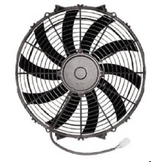 "Radiator Electric Fan, 14"" Reversible S-Blade Fan - 2,135 CFM. Champion Series Photo Main"