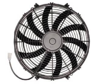 "Radiator Electric Fan, 16"" Reversible S-Blade Fan - 2,170 CFM. Champion Series Photo Main"