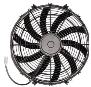 "Radiator Electric Fan, 16"" Reversible S-Blade Fan - 1,950 CFM. Challenger Series Photo Main"