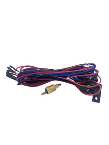 Electric Fan Wire Harness With Temp Switch & Relay, 185 Degree Photo Main