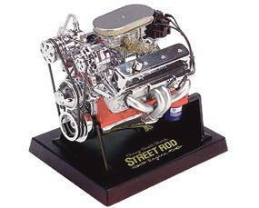 Model Die Cast -Chevy Small Block Street Rod Engine. 1:6 Scale Photo Main
