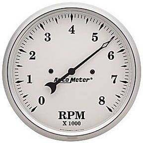 "Instrument Gauges - Auto Meter Old Tyme White, 5"" Tach Photo Main"