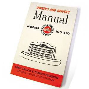 Owners Manual - GMC Truck, 1947-48 Photo Main