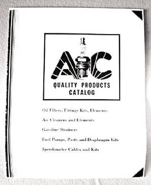 "Parts Catalog - ""AC"" Oil, Fuel & Air Filters Photo Main"