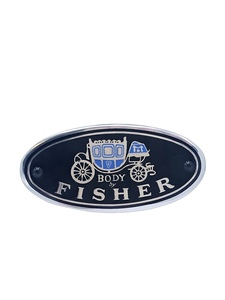 "Sill Plate Emblem ""Body By Fisher"" Photo Main"