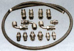 Power Steering Hose Kit. GM Remote Reservoir Pumps Without Adjustable Valve Photo Main