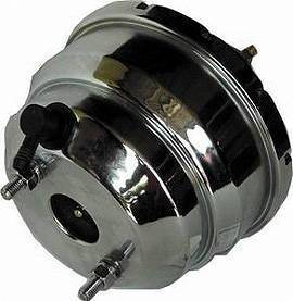 "Brake Power Booster, Chrome - 8"" Double Diaphragm Photo Main"