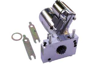 Starter, Gear Reduction -Chrome Aluminum GM Small Block & Big Block Chevy - 1.6 HP Photo Main