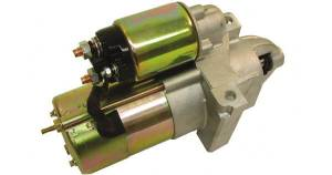 Starter, Gear Reduction -Satin Aluminum Small & Big Block Chevy Gear Reduction 2.4 Hp Photo Main