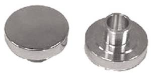 "Oil Fill Cap, Plain Polished Aluminum Push-In, With 1"" Neck Photo Main"