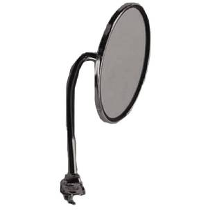 "Exterior Rear View Mirror, Chrome, 4.5"" Round. Straight Arm (Driver Or Passenger) Photo Main"
