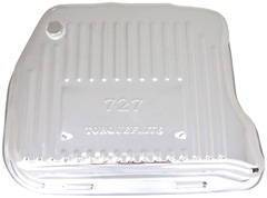 Transmission Pan Chrome Chrysler 727-Finned With Plug (Extra Capacity) Photo Main