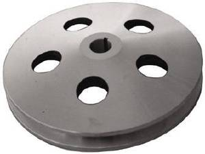 Power Steering Pulley, Satin Aluminum,  Early GM Single Groove  Photo Main