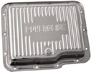 Transmission Pan -Finned, Chrome Chevy Powerglide  Photo Main