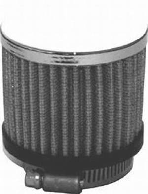 "Valve Cover Breather, Chrome Clamp-On Filter Style - 1 3/8"" Hole Photo Main"