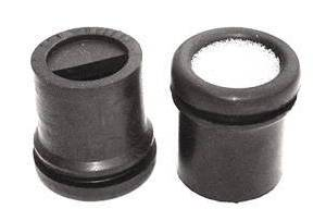 "Valve Cover Rubber Push-In Grommet With Foam Insert For Aluminum- 1"" Id X 1-1/4"" Od (Package Of 2) Photo Main"