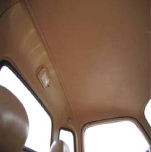Headliner -Smooth Design. Fits 49-53 Chevy Trucks - ABS Photo Main