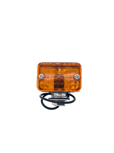 Park Light/ Turn Signal -Rod Lights. Amber, Small Size  Photo Main