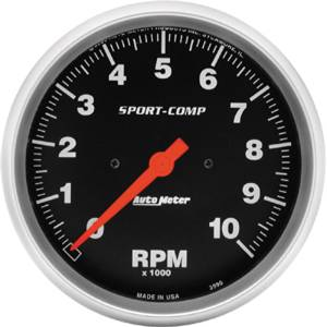 "Instrument Gauges - Auto Meter Sport Comp Series 5"" 0-10,000 Rpm Tachometer Photo Main"