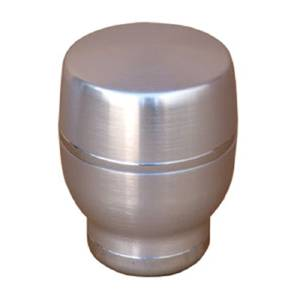 Shifter Knob Billet -Brushed Aluminum #1364 Barrel Photo Main