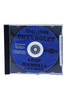 Chevrolet Shop Manual - 41-48 Cars & 41-46 Trucks On CD Photo Main