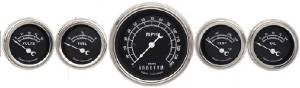 Instrument Gauges - (5 Gauge Set) - Traditional Series Flat Lens 12v Photo Main