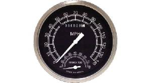 Instrument Gauges - Speedtachular Speedo Tach Combo - Traditional Series With Flat Lens 12v Photo Main