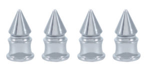 Chrome Spike Valve Stem Caps Photo Main