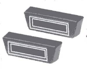 "Air Conditioning Vents - Under Dash, Rectangular (2"" X 6-1/4"") Photo Main"