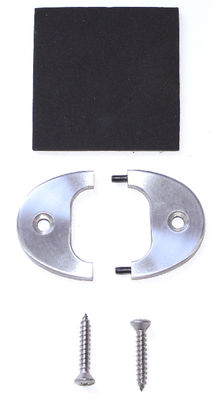 Trim Plate - Split & Pinned, Oval Plate With Oval Hole Photo Main