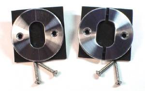Trim Plate - Split & Pinned, Round Plate With Oval Hole Photo Main