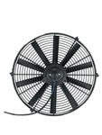 "Parts -  Radiator Electric Fan, 16"" Push Or Pull, 12v, Straight Blade 1940 CFM. Draws 10.6 Amps"