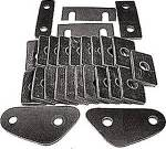 Chevrolet Parts -  Body Mounting Pads - Body To Frame (Except Cabriolet)
