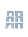 "Chevrolet Parts -  Body Mount Shims, 1/8"" Thick, 1-1/4"" X 1-1/8"" With 1/2"" Slot"