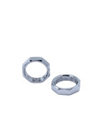 Chevrolet Parts -  Windshield Wiper Bezel Nuts -Retains Chrome To Cowl